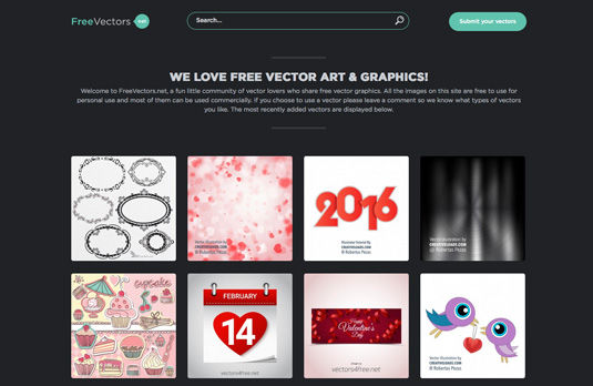 15 website penyedia vector